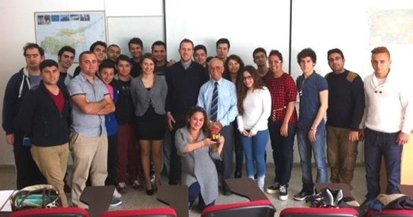 EMU Gastronomy and Culinary Arts Department Hosted the Director of Arsal Foods Hüseyin Arsal