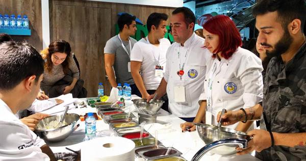 "EMU Tourism Faculty, Gastronomy and Culinary Arts Department in ""Sirha İstanbul 2015"""
