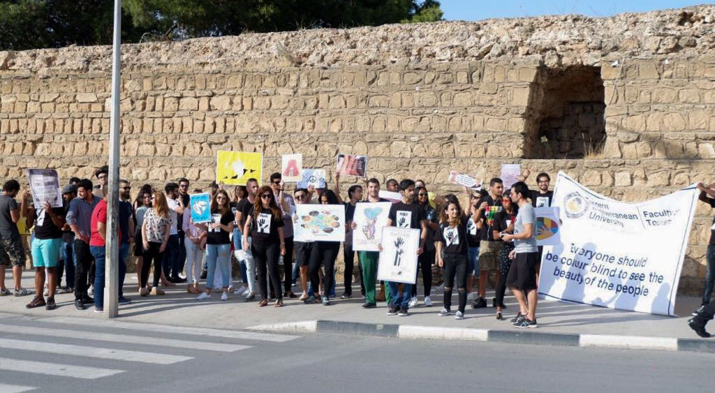 "EMU Faculty of Tourism Organizes ""World Free of Racism"" Themed Activities"