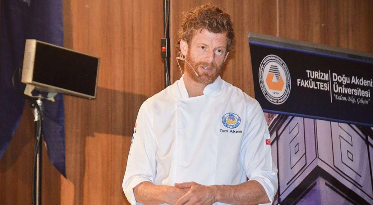 EMU Tourism Faculty Hosts Youngest Michelin Star Awarded British Chef Tom Aikens