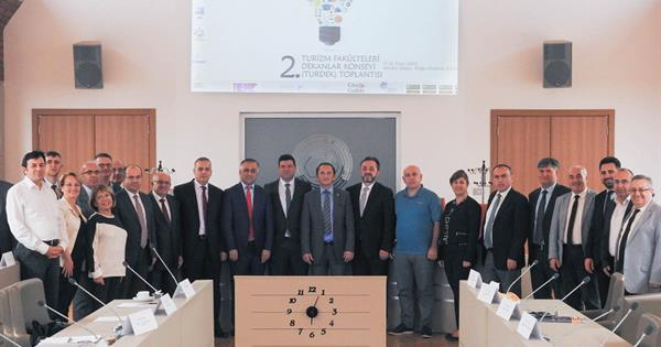 2nd Tourism Faculties' Deans Council Meeting is Hosted by EMU