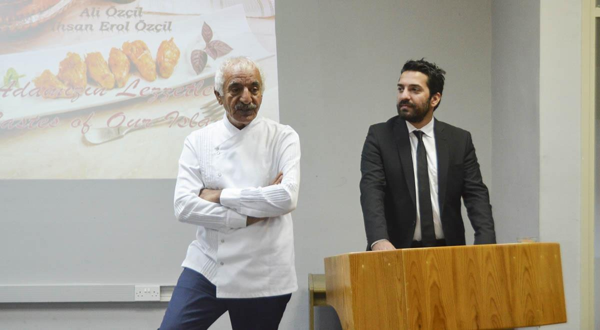 Ali Özçil and İhsan Erol Özçil Deliver a Talk at the EMU Tourism Faculty