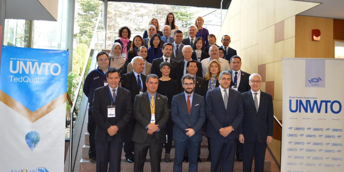 As Institution with UNWTO.TedQual certified programmes    We attended 1st UNWTO.TedQual Networking Meeting 2018 on 20 March, in Andorra la Vella, Principality of Andorra.